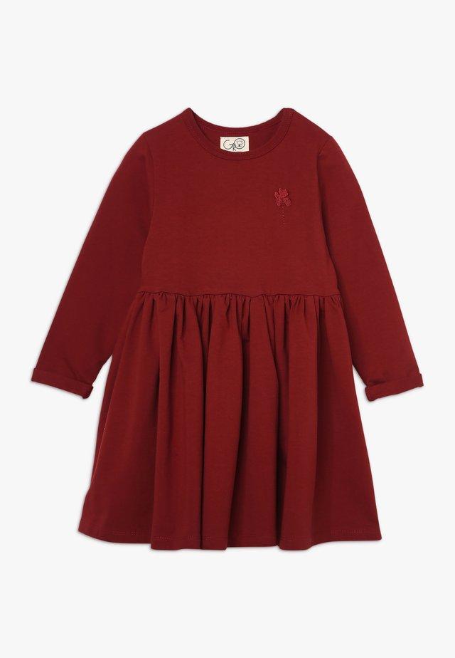 INA TINKERBELL DRESS - Kjole - bourgogne