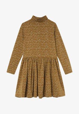 CECILIE DRESS - Vestito di maglina - ochre green
