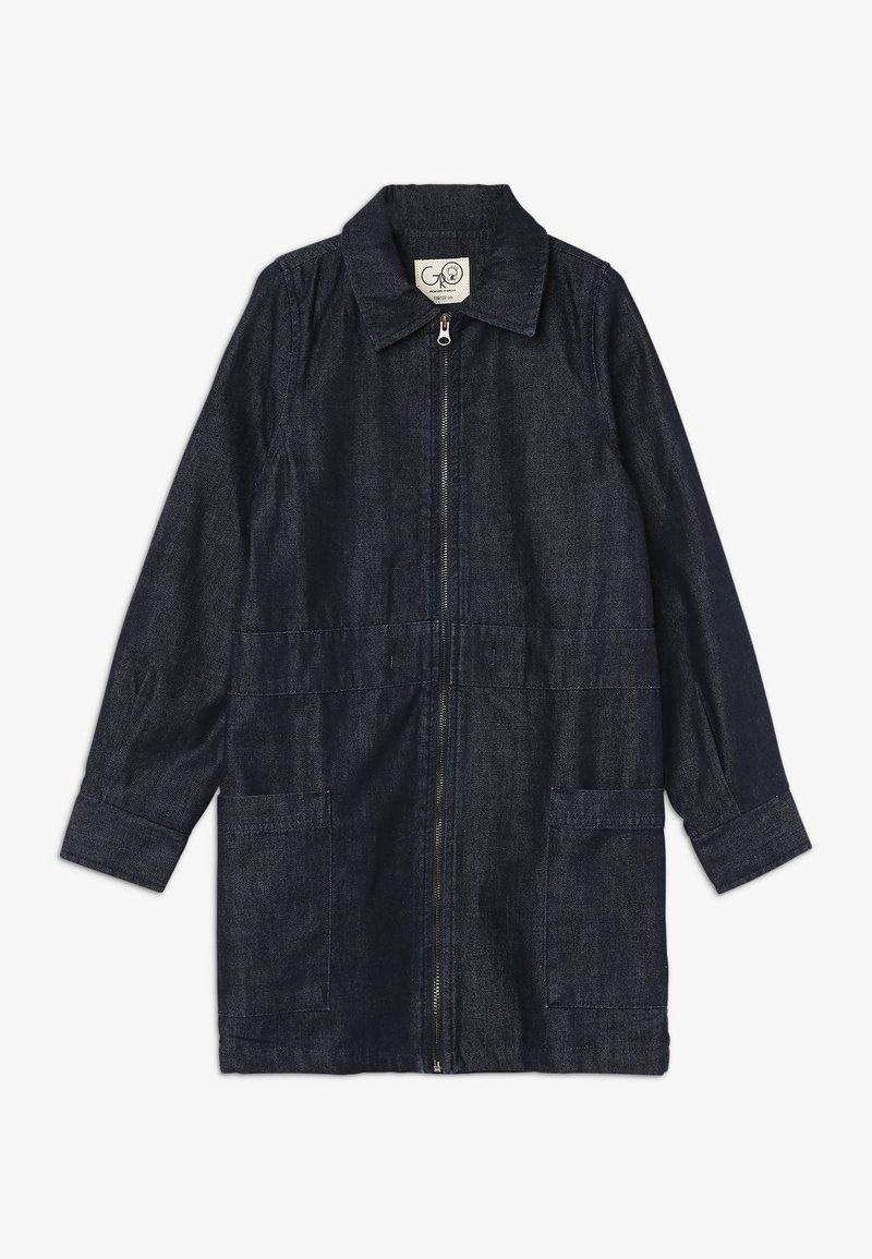 GRO - CLAUDIA WORKER DRESS - Jeanskleid - dark blue navy