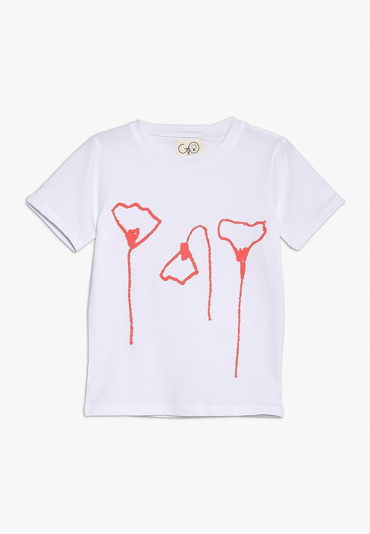 GRO - NORR  TEE - T-shirt med print - white