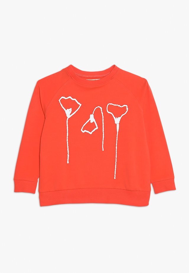 ABBY OVERSIZE - Sweatshirt - matt red