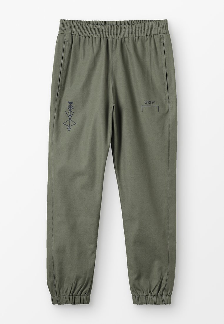 GRO - JALDE TRACK PANT - Trousers - army