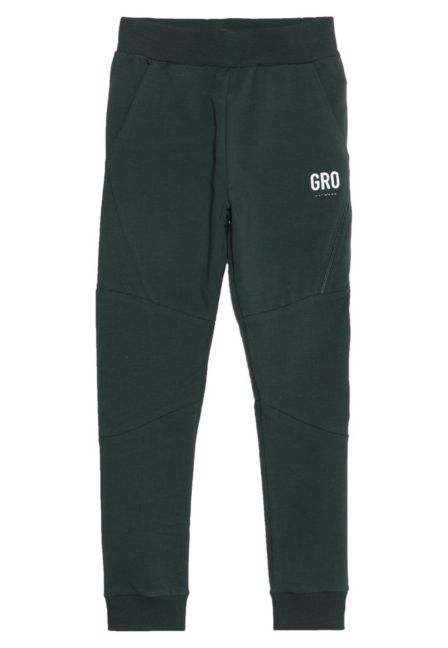 BERLIN FOOTBALL PANT - Spodnie treningowe - baltic sea
