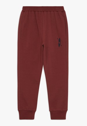 BROR PANT - Tracksuit bottoms - burgengy