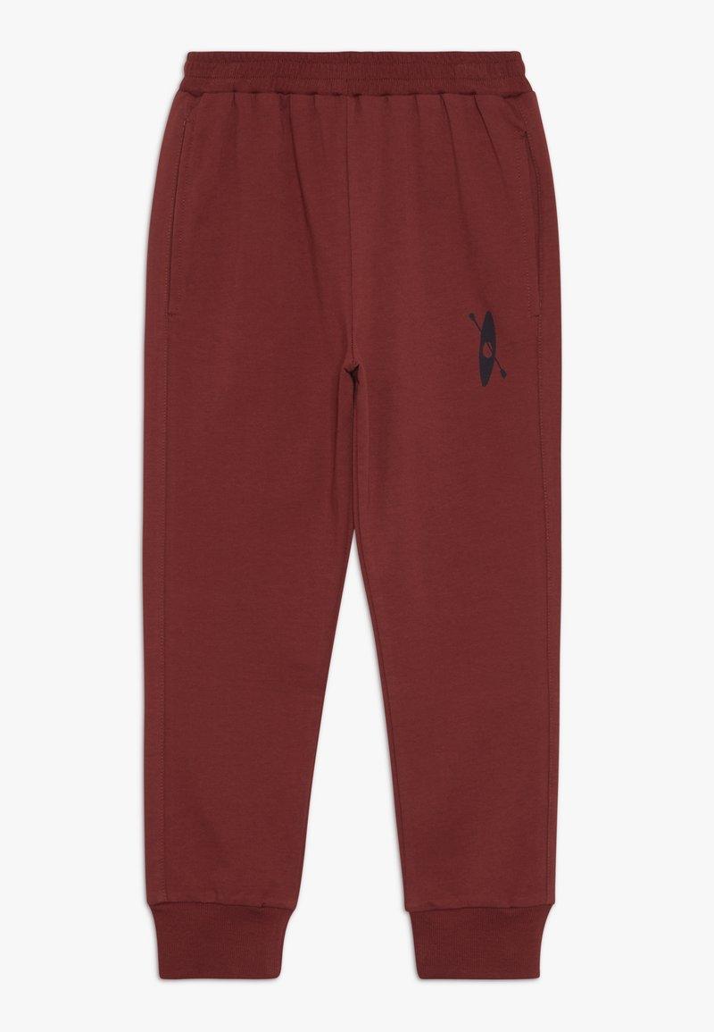 GRO - BROR PANT - Tracksuit bottoms - burgengy