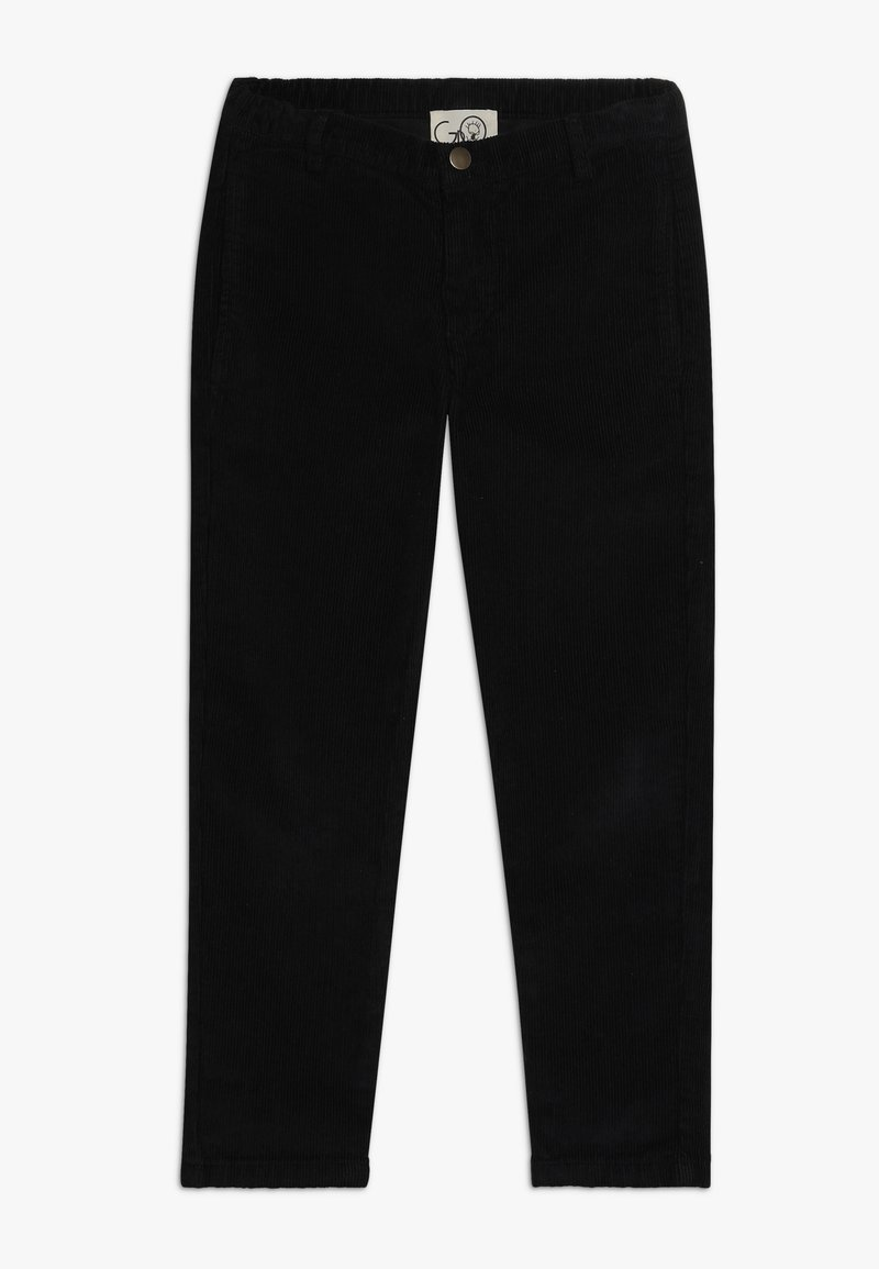GRO - BRUNO CROPPED PANT - Trousers - black