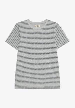 NORR TEE - T-shirt z nadrukiem - light grey
