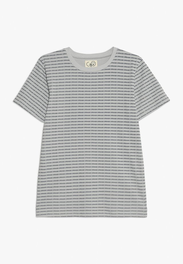 NORR TEE - T-shirts print - light grey