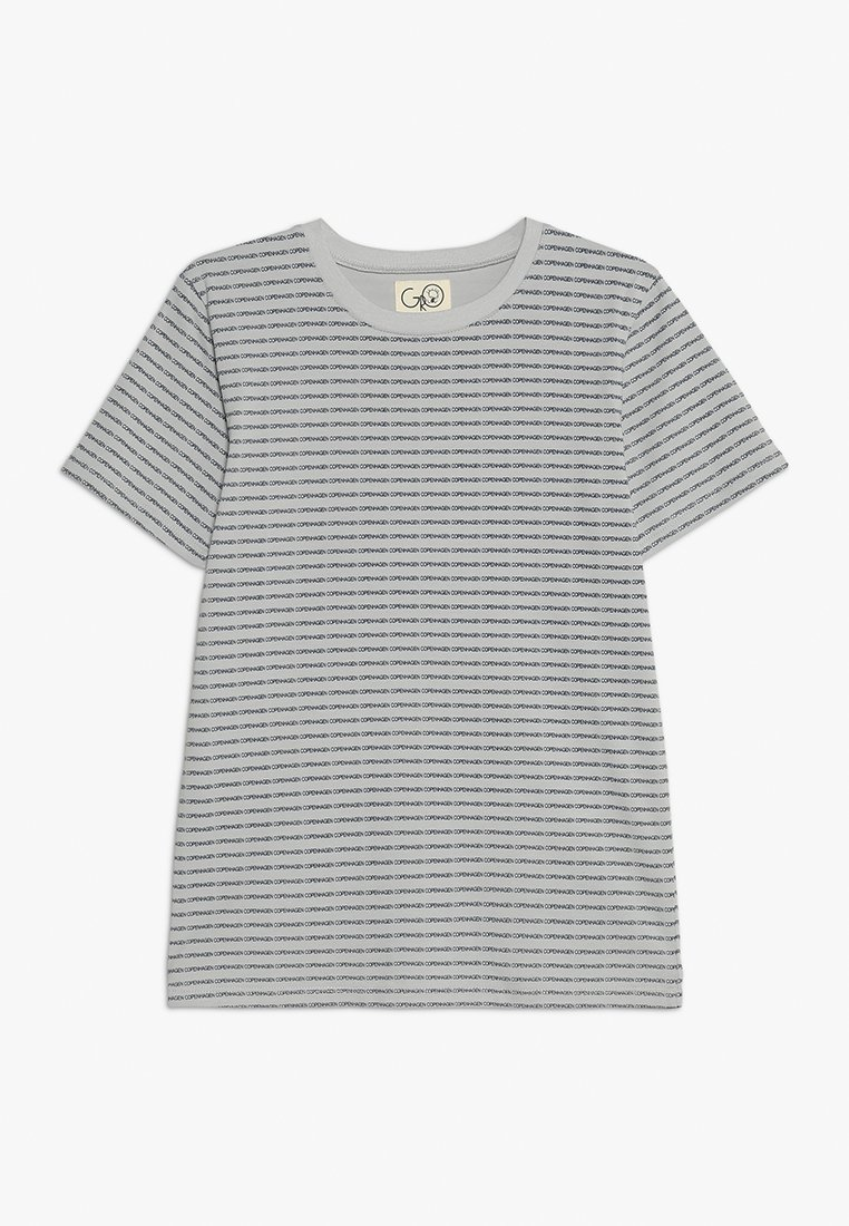 GRO - NORR TEE - Print T-shirt - light grey