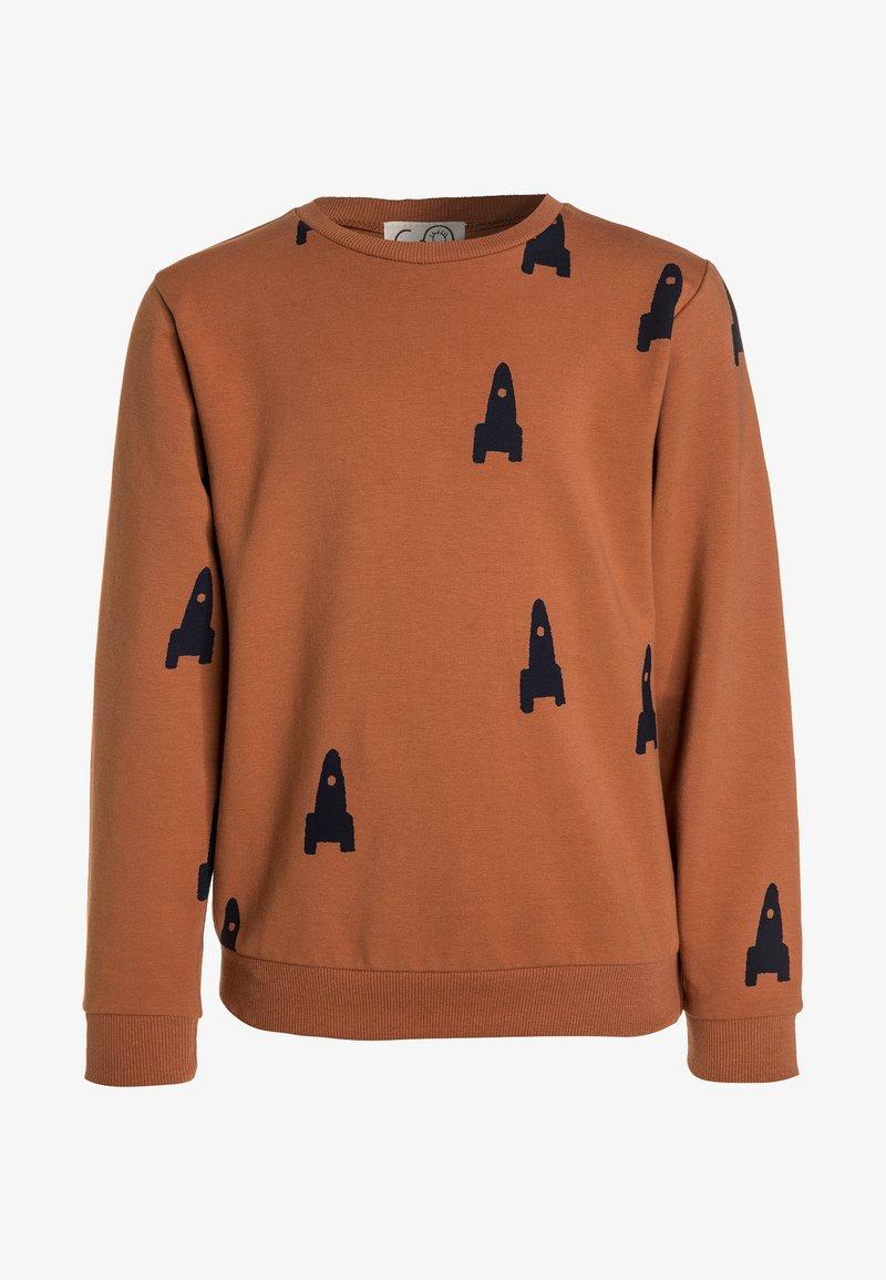 GRO - Sweatshirt - cognac