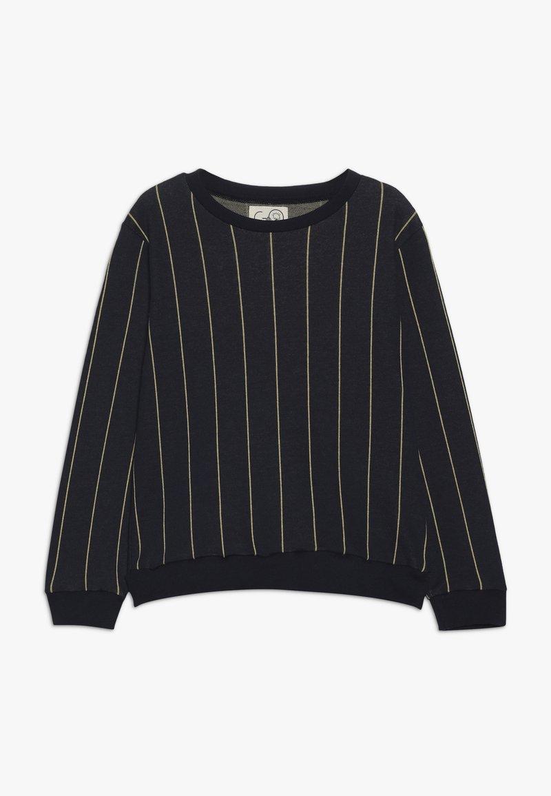 GRO - MADS - Sweatshirt - navy/mustard