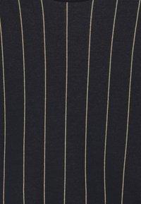GRO - MADS - Sweatshirt - navy/mustard - 3