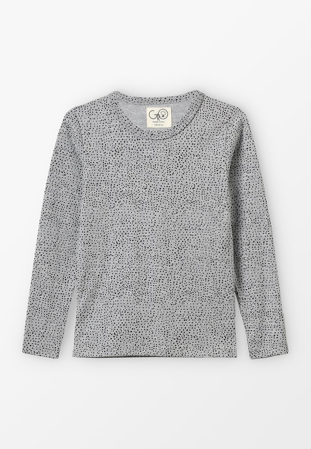SOLAR LONG SLEEVE - Long sleeved top - melange grey