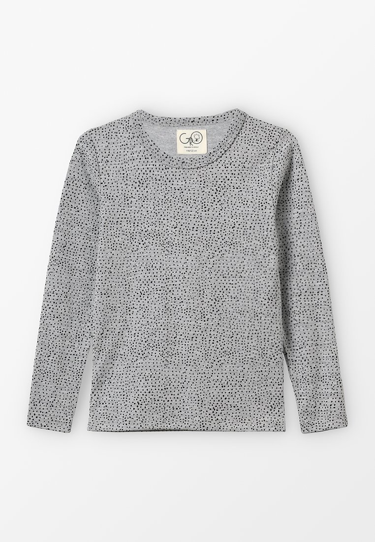 GRO - SOLAR LONG SLEEVE - Long sleeved top - melange grey
