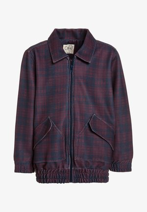 80' JACKET - Light jacket - navy/bordeaux