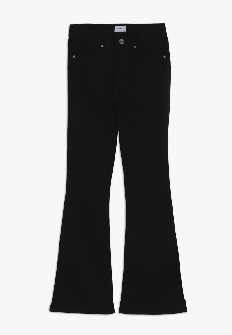 Grunt - FLARE - Jean bootcut - black