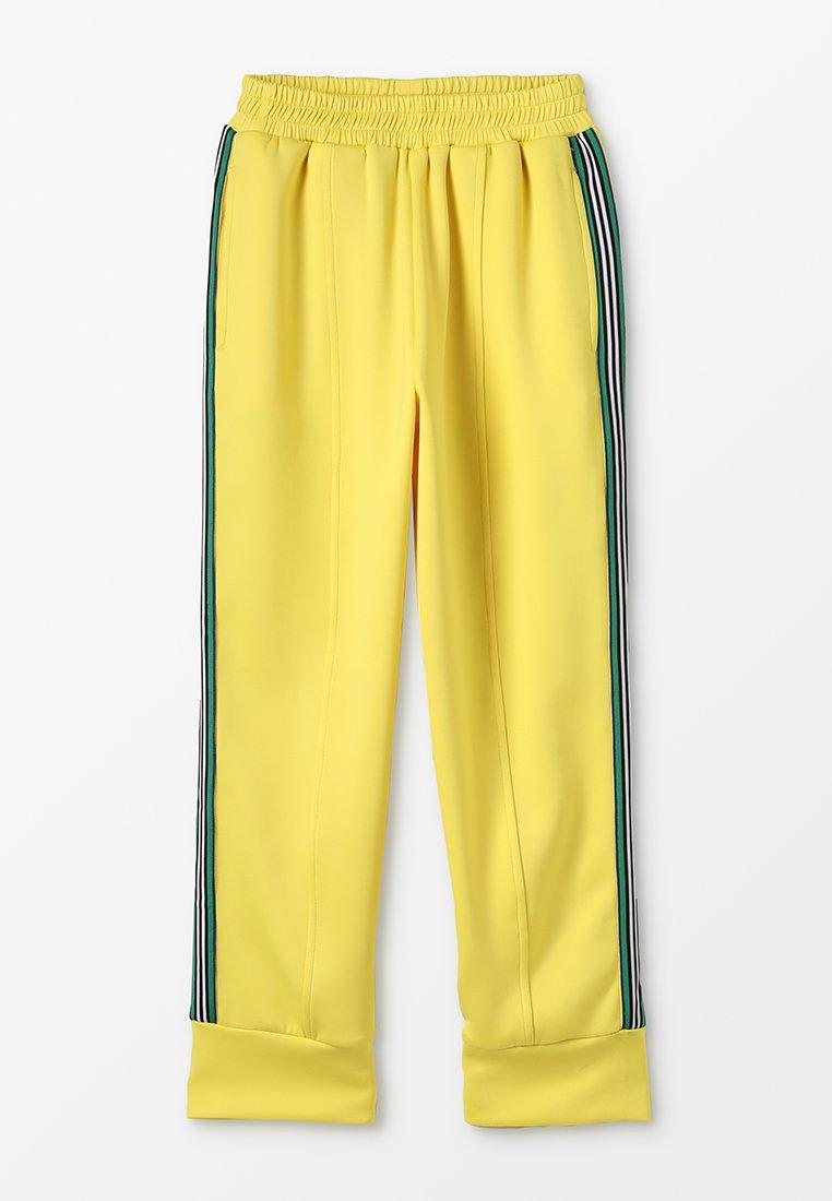 Grunt - LEEN PANT - Pantalon de survêtement - lemon yellow