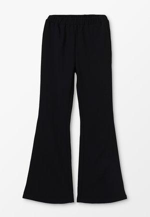METTE TRUMPET PANT - Kalhoty - black