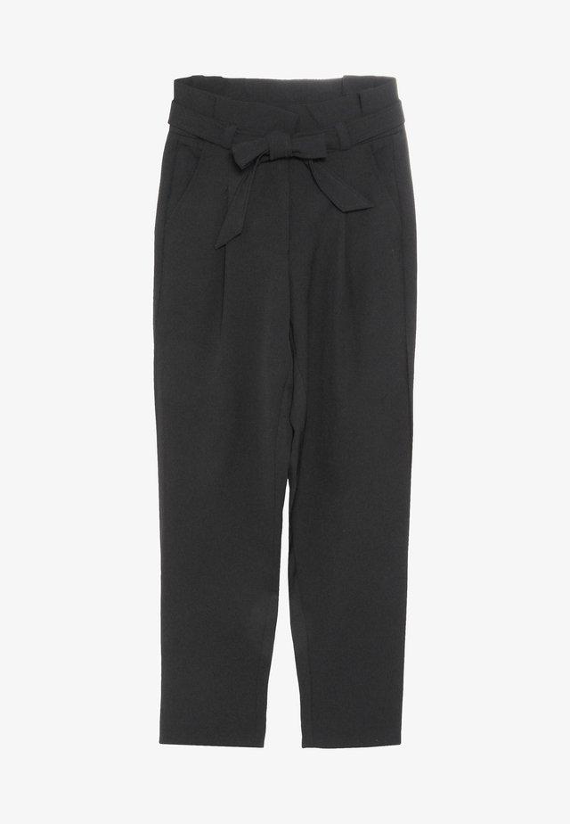 LARKE ANKLE PANT - Pantaloni - black