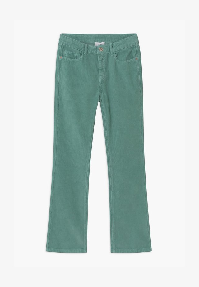 FLARE - Trousers - soft moss