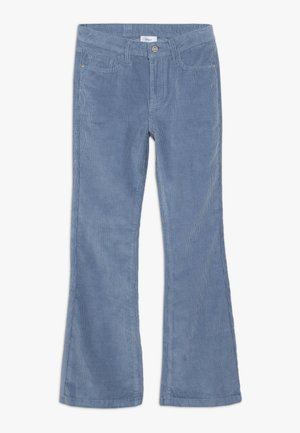 FLARE PANT - Trousers - storm blue