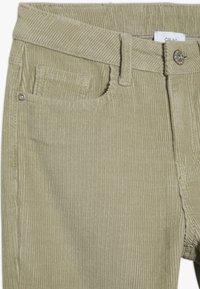 Grunt - FLARE PANT - Trousers - dark stone - 3