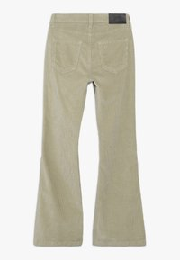 Grunt - FLARE PANT - Trousers - dark stone - 1