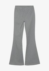 Grunt - AURORA FLARE PANT - Trousers - black/white - 3