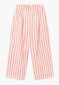 Grunt - ALO  Croped - Trousers - coral/white - 0