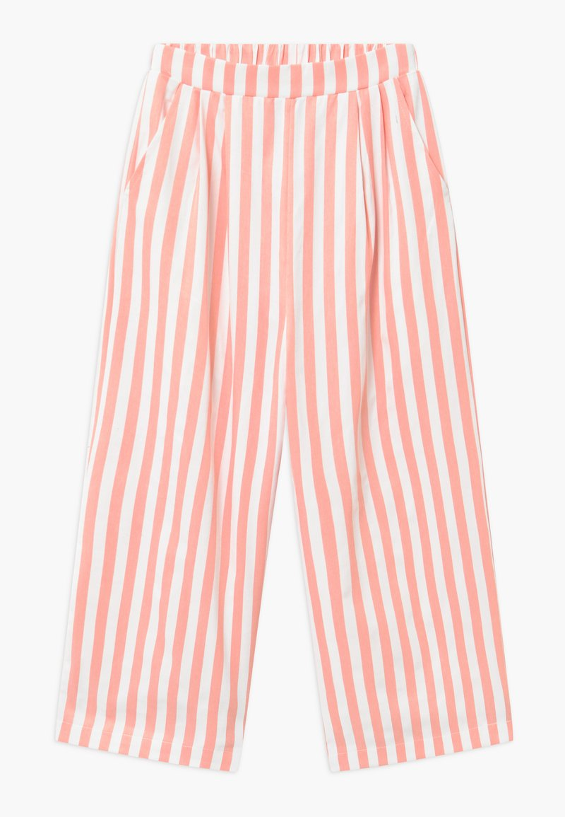 Grunt - ALO  Croped - Trousers - coral/white