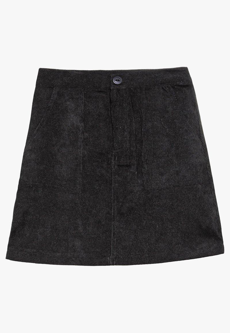 Grunt - SIMONE SKIRT - Mini skirt - black