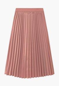 Grunt - HAZZ - A-line skirt - pastel red - 1