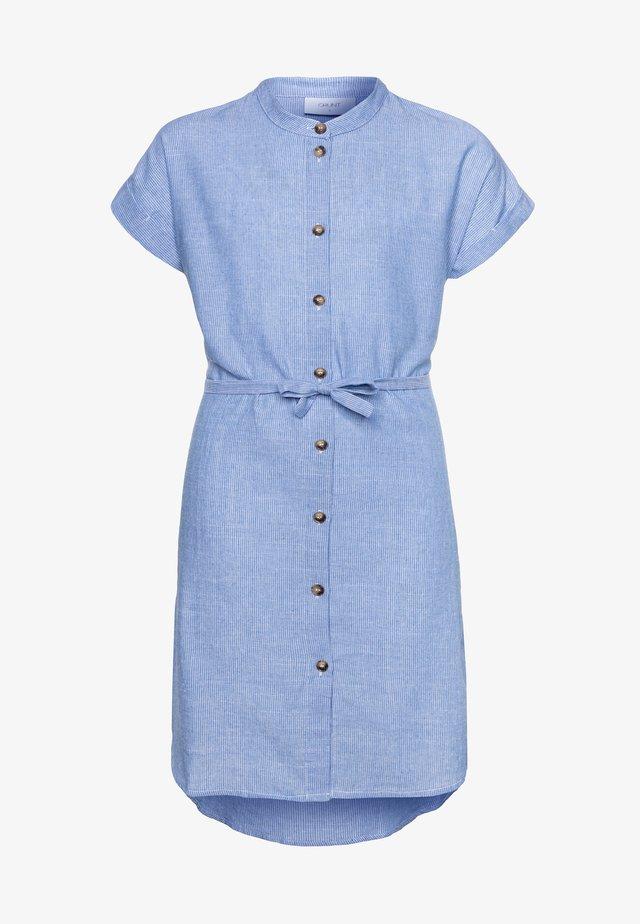 CAMILLE DRESS - Skjortekjole - blue