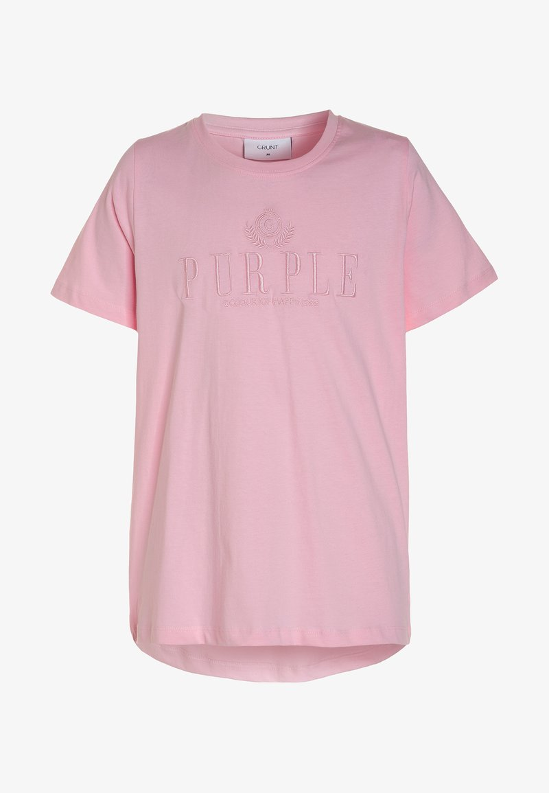 Grunt - LISA TEE - T-shirts print - pink