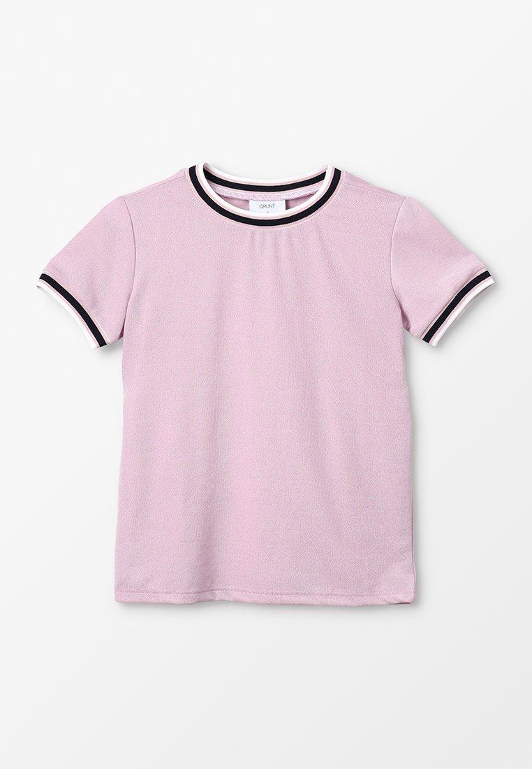 Grunt - MULLE TEE - T-Shirt print - rosa