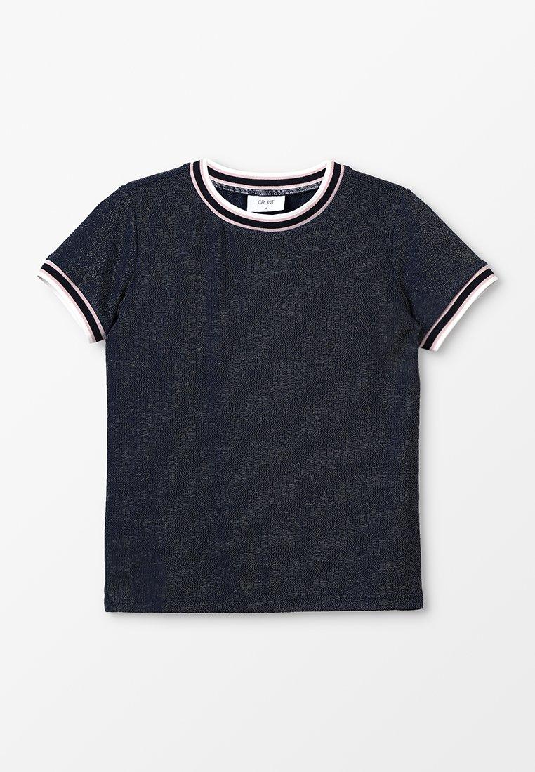Grunt - MULLE TEE - Camiseta estampada - midnight blue