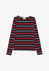 Grunt - SIF TEE - Långärmad tröja - night blue/red - 2