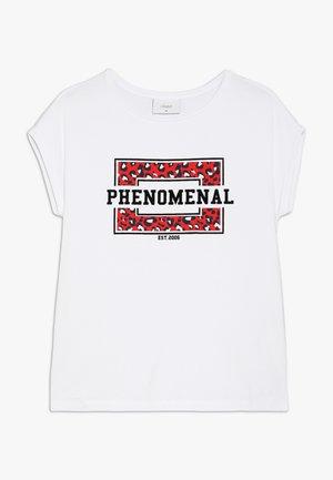 STELLA TEE - Print T-shirt - white