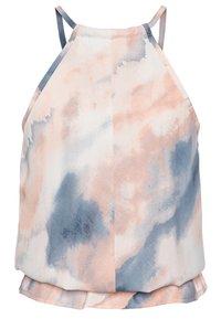 Grunt - AVIS TIE DYE - Top - light pink/blue - 1