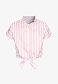Grunt - AROS  - T-shirt print - coral/white - 0