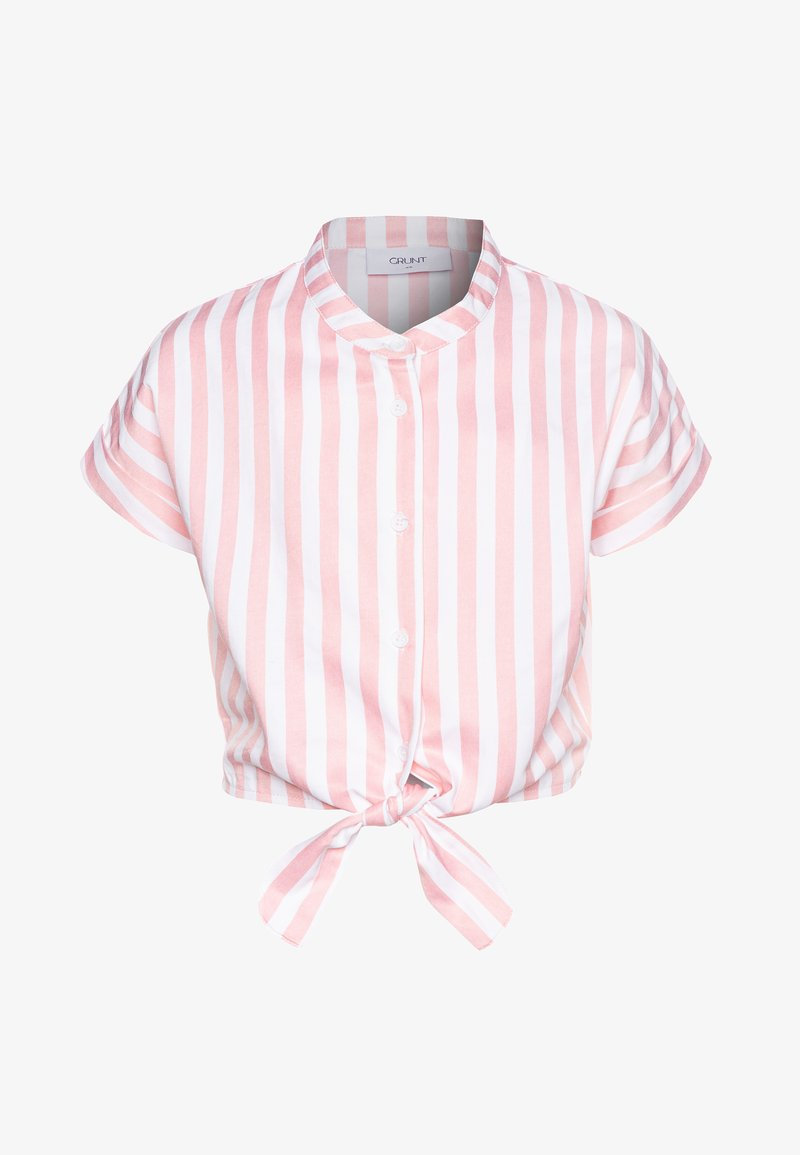 Grunt - AROS  - T-shirt print - coral/white