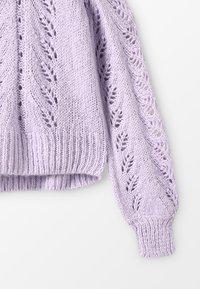 Grunt - LIVA - Strikpullover /Striktrøjer - light purple - 2