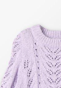 Grunt - LIVA - Strikpullover /Striktrøjer - light purple - 4