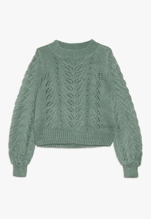 LIVA - Strickpullover - green bay