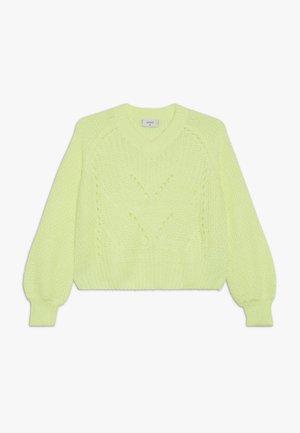 HEDVIG - Neule - neon yellow