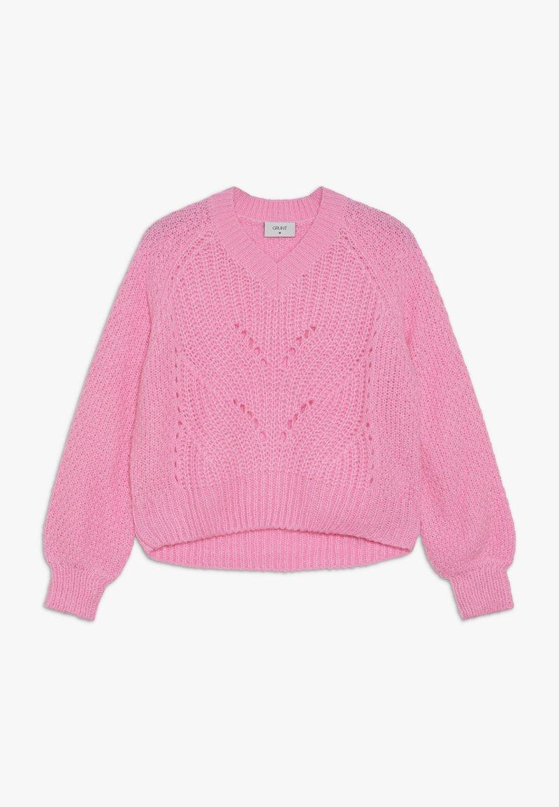 Grunt - HEDVIG - Svetr - neon pink