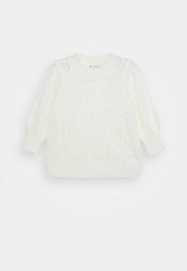 CHRISTINA - Strickpullover - off white