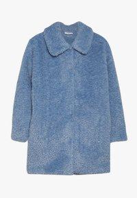 Grunt - TEDDY JACKET - Winter coat - light blue - 0