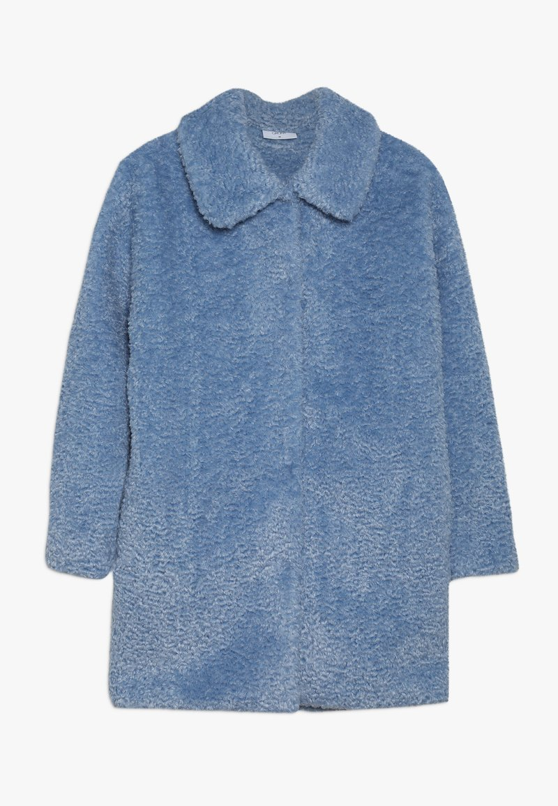 Grunt - TEDDY JACKET - Winter coat - light blue