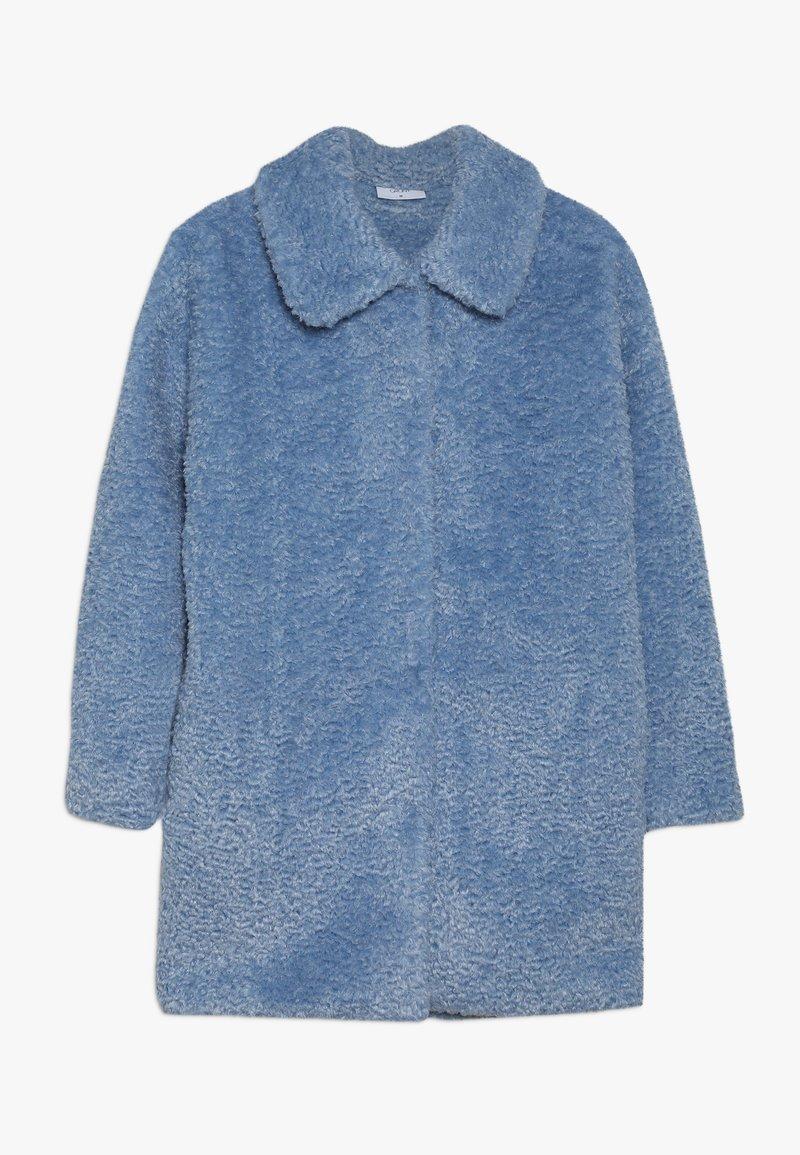 Grunt - TEDDY JACKET - Vinterfrakker - light blue
